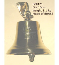 2018 New latest christmas bell hanging brass bells