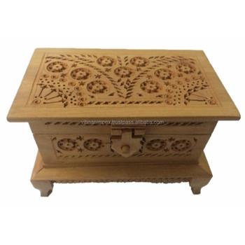 Designer Handmade Elephant Crafted Wooden Box Handicraft Buy
