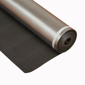 China supply Chinese dry shield floor underlayment with aluminum