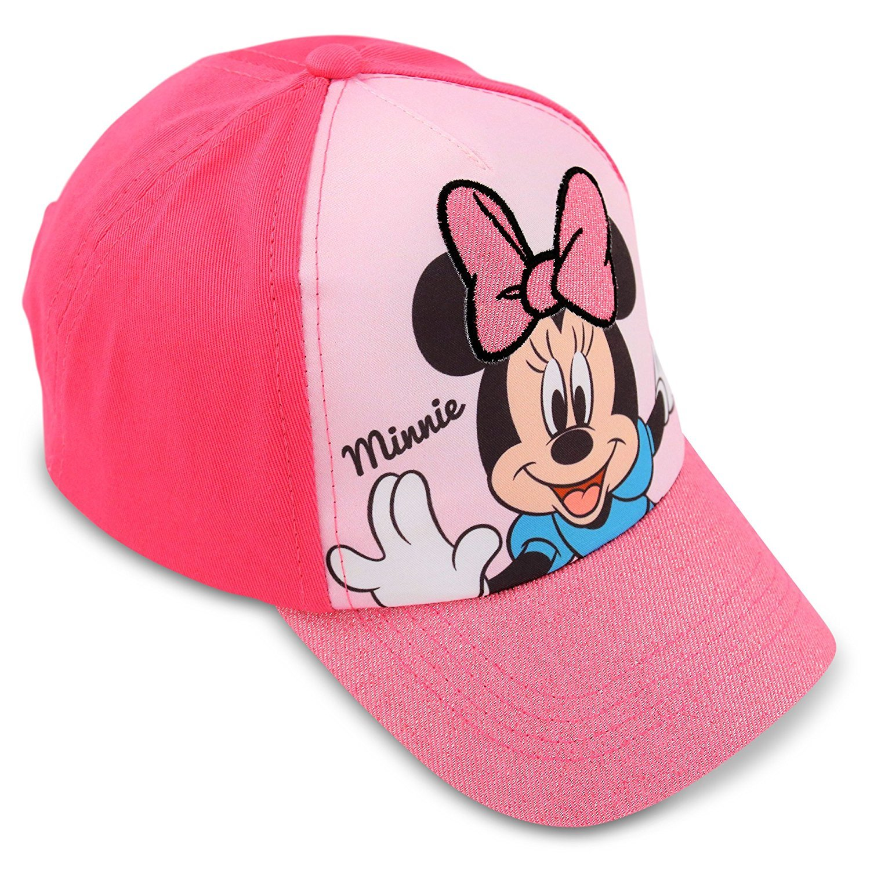 d51fd09e1d0 Get Quotations · Disney Little Girls Minnie Mouse Cotton Baseball Cap