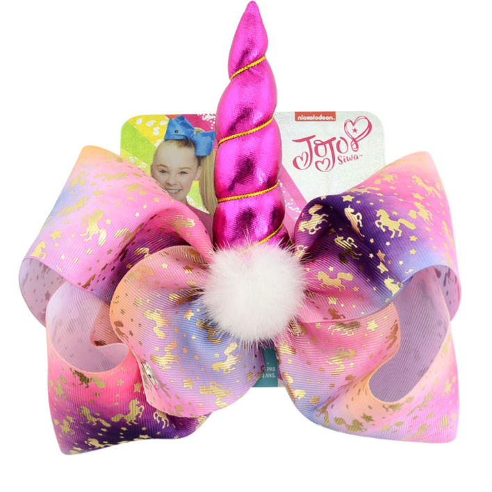 Clothing, Shoes & Accessories Glorious Unicorn Fabric Boutique Hairbow Hair Accessories