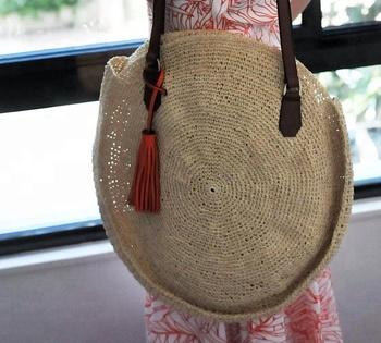 Bast Handgemachte Tote Tasche Aus Vietnam Buy Bast Taschehäkeln
