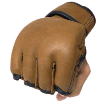 High Quality Cowhide Leather MMA GLOVES