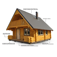 High-quality Homes Woodhouse Log Cabin Kits
