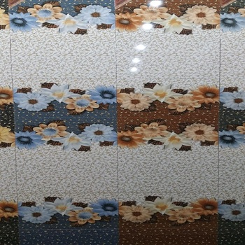 250*750mm Flower Design Decorative Digital Wall Tiles
