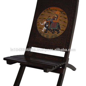 Awe Inspiring Indian Wooden Handicraft Traditional Hand Carved Royal Elephant Riding Painted Chair Buy Antique Hand Carved Wood Chairs Designer Indoor Wooden Home Interior And Landscaping Oversignezvosmurscom