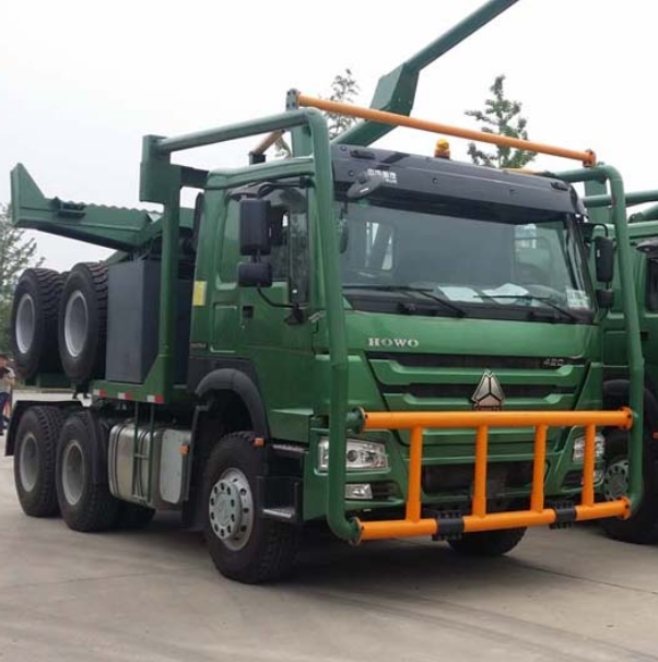 2015 New Sinotruk Howo 6x4 Log Carrier Tractor Truck For