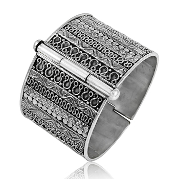 9eed22852ffe Fabuloso de la moda de las mujeres brazalete de plata 925 joyas de plata  hecho a