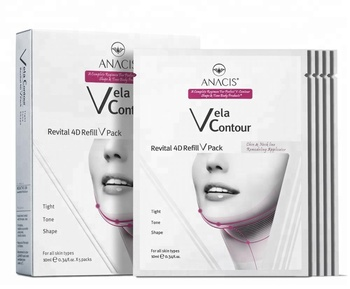 c00f2aba738 Vela Contour Revital 4D Refill V Pack tight tone V shape for beautiful jaw  and neck