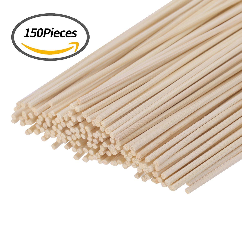 7defd267fff7 Buy Senkary 150 Pieces Reed Diffuser Sticks Wood Rattan Reed Sticks ...