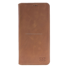 New Premium Genuine Leather Book Style Phone Case for Samsung S8 Plus