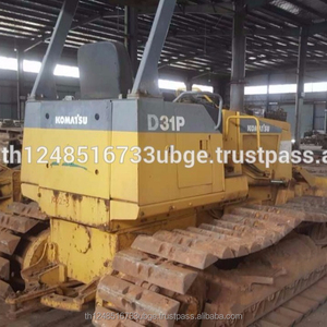 Used Japanese Komatsu D31P-20 bulldozer with great working condition for  cheap sale