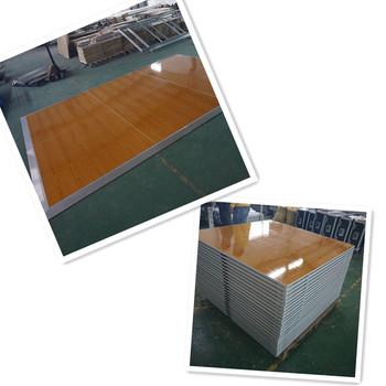 Slap Up Portable Plywood Dance Floor Interlocking Wooden Floor Tiles