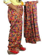 INDIAN GEDRUKT <span class=keywords><strong>SALWAR</strong></span> MET DUPATTA EN POCKET