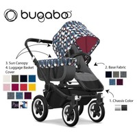 Christmas swift delivery for _NEWLY DESIGNED_ Bugaboo Donkey2 Mono Complete Stro0ller in Black