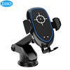 Mobile Phone Stand Car Mount Qi Wireless Charger For Samsung Galaxy j5