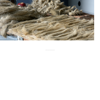 natural banana fiber obtained from banana fiber stems suitable for art and crafts, for yarn weavers,.