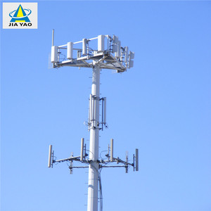 Nine years foreign trade experience 4 G antenna wifi telecom eight side SC certificate cell tower