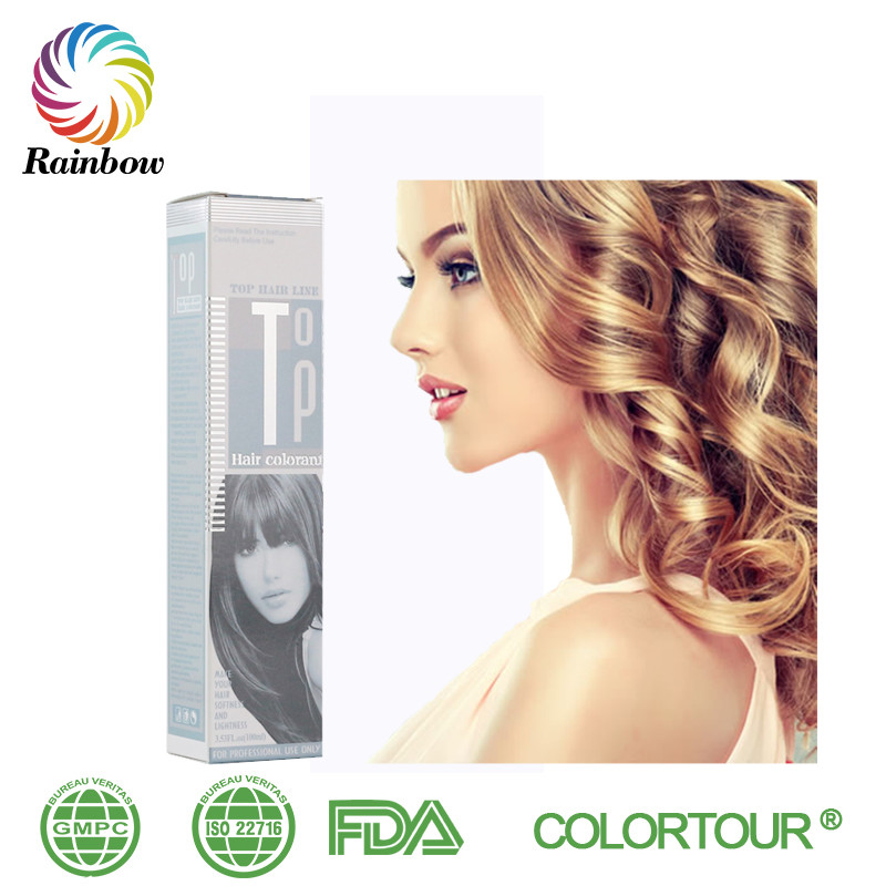 Colortour Organic Hair Color Products Professional Keratin Dark Ash
