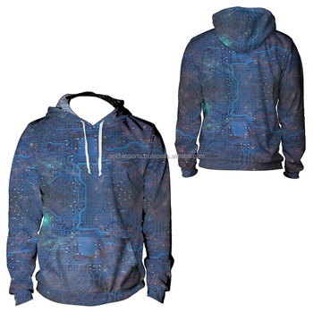 Your Own Design 3D Printed Sublimation Hoodies