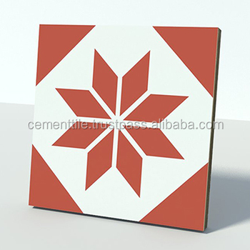 CTS 27.1 Encaustic cement tile made in Vietnam high quality export to USA