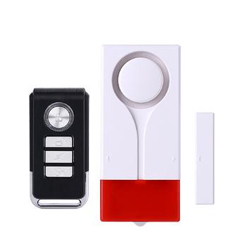 Sistemi Di Sicurezza Per Porte E Finestre.Porte E Finestre Di Sicurezza Luce E Voce Sistema Di Allarme Senza Fili Allarme A Vibrazione Magnete E Vibrazioni Di Rilevamento Del Sensore Buy