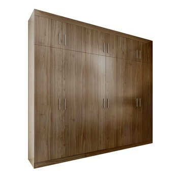 OPPEIN MDF customized simple designs hotel bedroom wooden wardrobe
