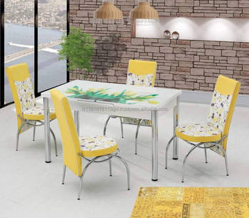 Table A Manger 6 Chaises Ensemble Design Turc Haute Qualite Cuisine Utilise Buy Table A Manger En Verre 6 Chaises Dernieres Conceptions De