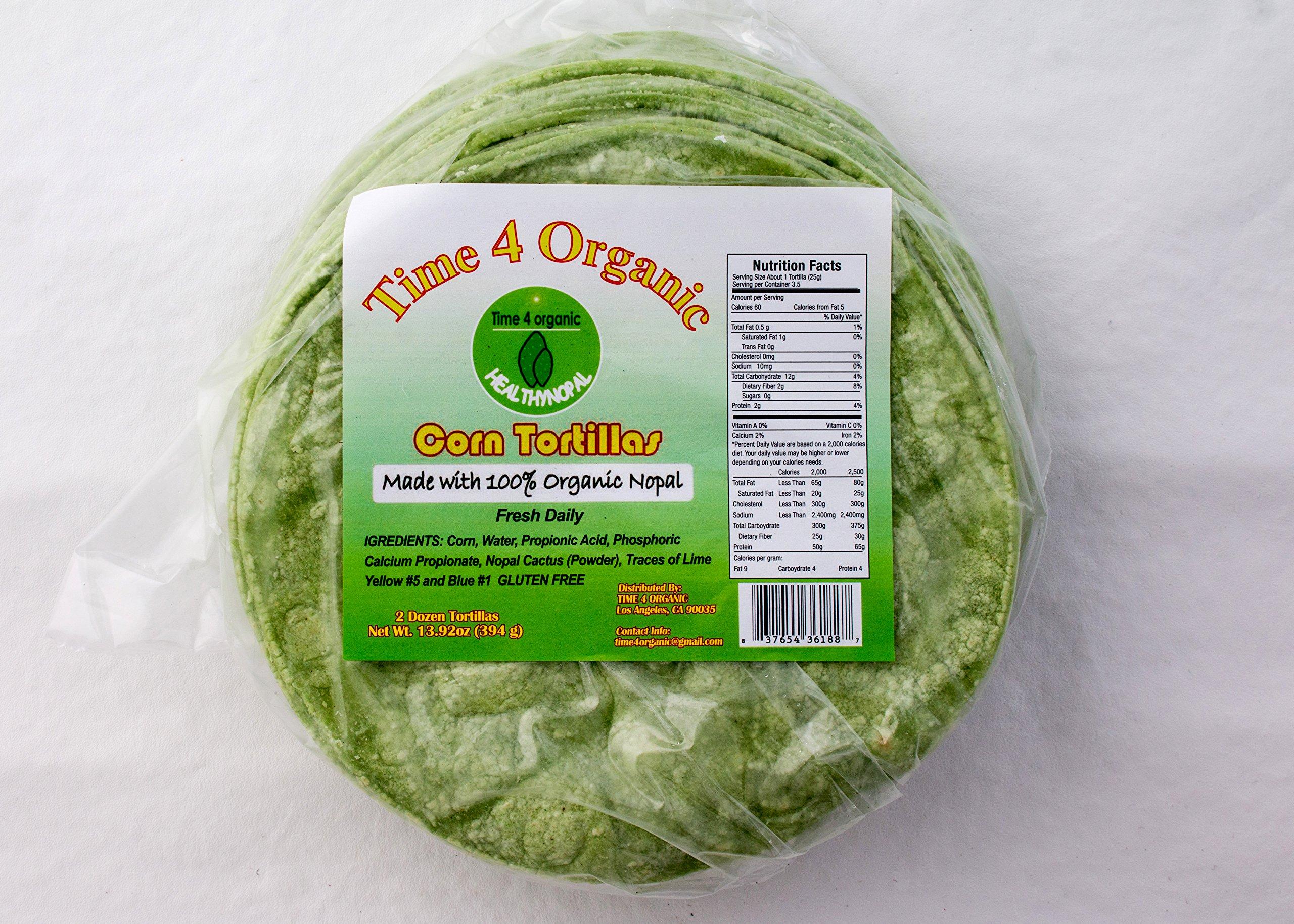Get Quotations · 100% organic nopal Cactus Tortillas