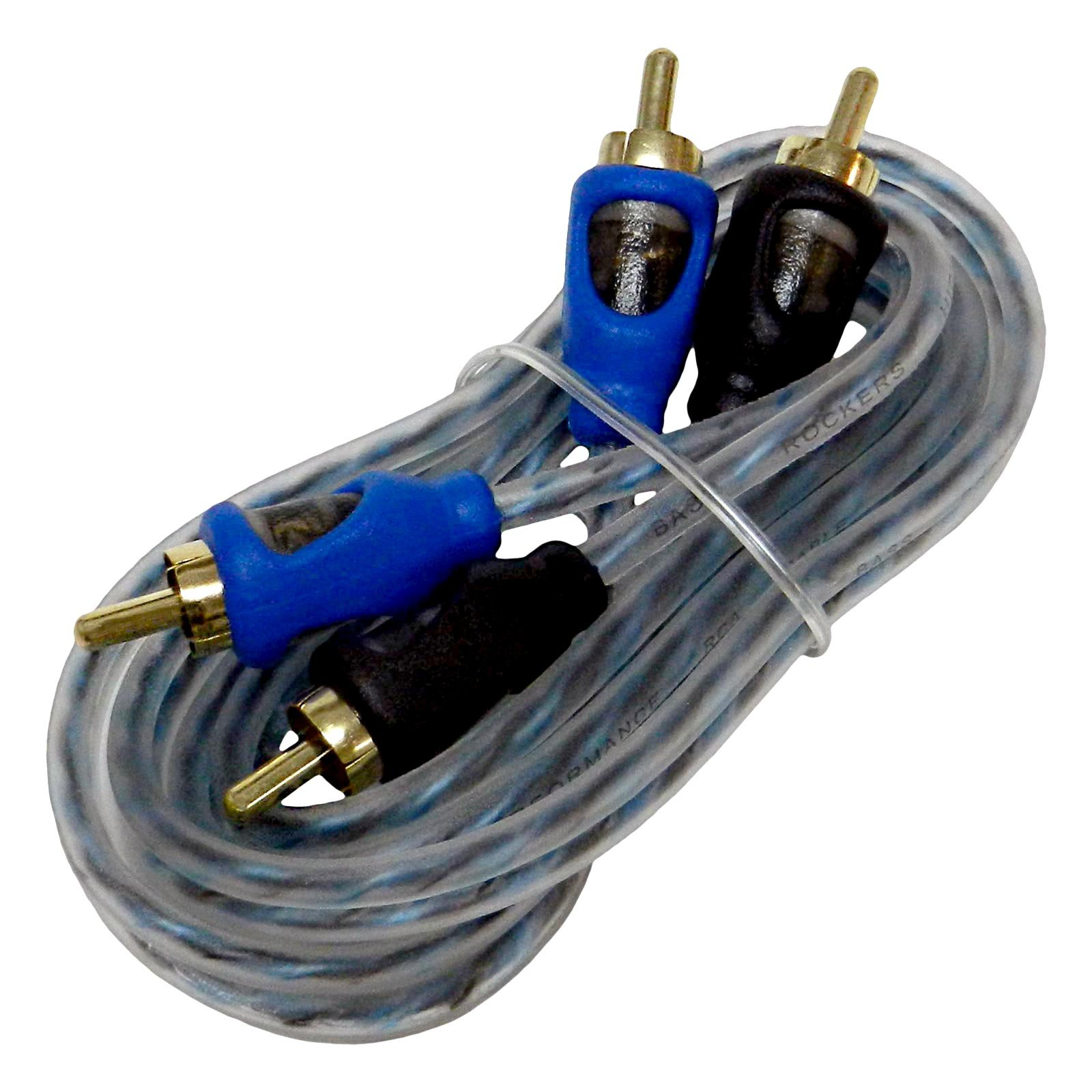 Triple Shielded RCA Cable 1 Meter KnuKonceptz Krystal 2 Channel 1M Twisted Pair OFC