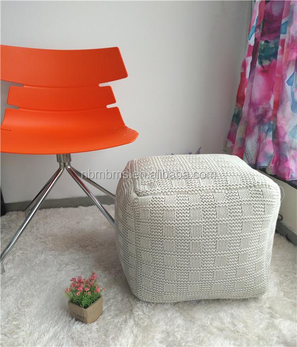 Level Design Pouf.Special Pattern High Level Comfortable Square Crochet Pouf Buy Square Crochet Pouf Special Pattern Square Crochet Pouf Comfortable Square Crochet