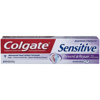 COLGATE SENSITIVE LASTING FRESH TOOTHPASTE