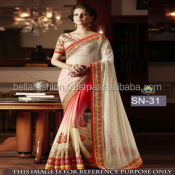 30a753495d Latest Color Single Bollywood Designer Wedding and Party Wear Bridal Sarees  in Surat