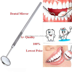 Dental Surgery Pro DENTAL MOUTH INSPECTION MIRROR + HANDLE Dentist Dentistry Tool Instrument