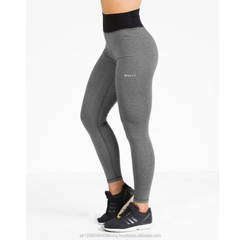 1811d0336f63 women compression tights custom logo fitness 3 4 yoga pants workout leggings  active wear tights