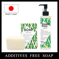Gentle and Original Facial Soap with natural ingredients made in Japan