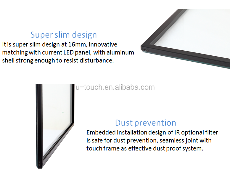 24 Inch Touch Screen Digital Wall Display Use Ir Touch Frame,24 ...