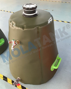 Molatank Small Size PVC Emergency Inflatable Water Storage Bags