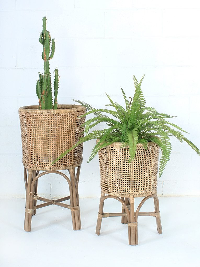 Beautiful Handmade Rattan Plant Stand For Home Deco Buy Home Deco Plant Stand Rattan Product On Alibaba Com