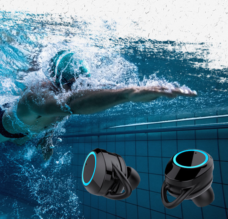 Active Noise Cancelling TWS 5.0 Bluetooth fone de Ouvido Sem Fio