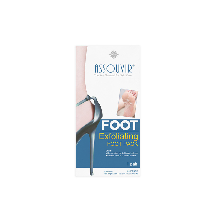 Hot koop exfoliërende whitening voedende voet masker voor gebarsten hakken