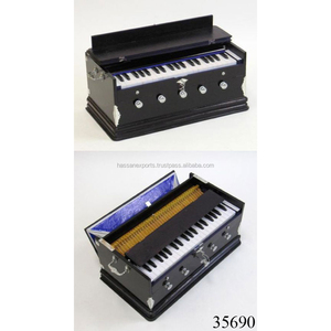 DECORATIVE INDIAN WOODEN HARMONIUM