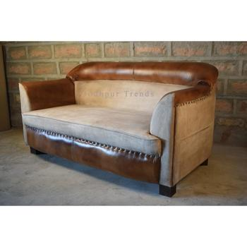 Magnificent High Quality Canvas Leather Two Seater Sofa Home Sofa Buy Chesterfield Leather Sofa Two Sided Leather Sofa Sofa For Restaurant Restaurant Leather Bralicious Painted Fabric Chair Ideas Braliciousco