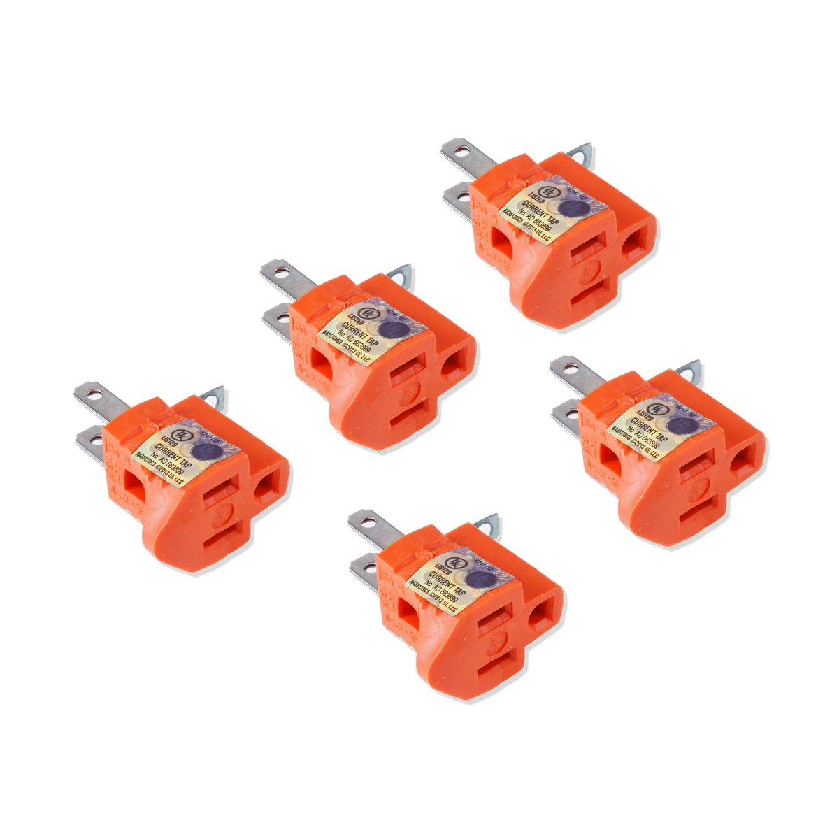 Cheap 3 Prong Electrical Plug Wiring Find Ac Power Get Quotations Flexzion To 2 Adapter 5 Pack Pin