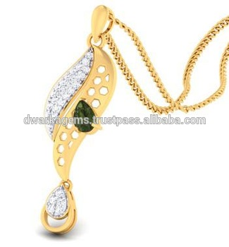 Simple gold pendant design for women emerald buy simple gold simple gold pendant design for women emerald aloadofball Image collections