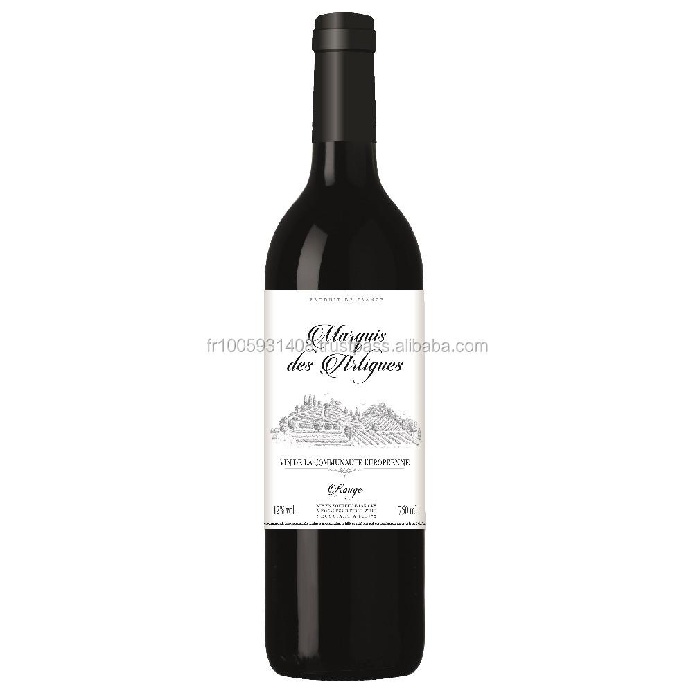 Marquis des Artigues Vin de la Communaute Europeenne high quality red wine