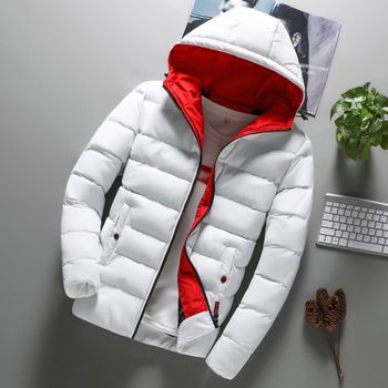 Winter Jas 2019 Made In Vietnam mannen Warme Winter Parka Gewatteerde Gewatteerde Hooded Lange Jas Uitloper Puffer Jas Nieuwe