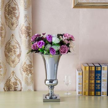 Wedding Silver Vase Centerpieceflower Urn For Wedding Table