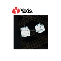 Premium quality Yaxis artificial stone solid surface pendant light made in Malaysia