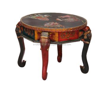 Cool Indian Painted Coffee Table Buy Hand Painted Furniture Wood Coffee Table Coffee Table Product On Alibaba Com Inzonedesignstudio Interior Chair Design Inzonedesignstudiocom